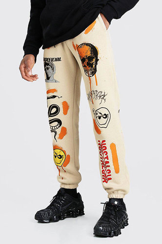 back_Andrewsixty-four Multicolor Pants
