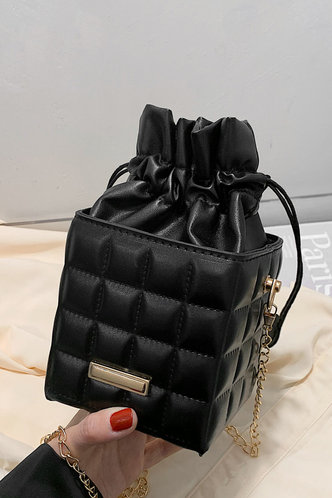 front_Cornelia Esther Black Crossbody Bag