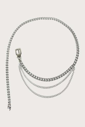 front_Valeria Emma Silver Waist Chain