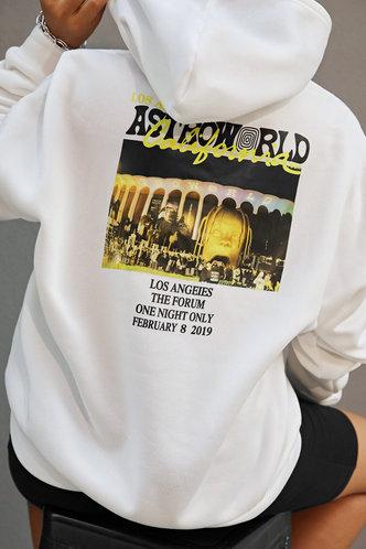 back_Hoodie    White Sweatshirts & Hoodies