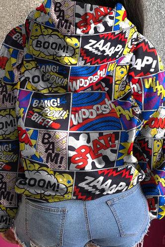 back_Consuela Evangeline Graphic Print Pocket Drawstring Pullover