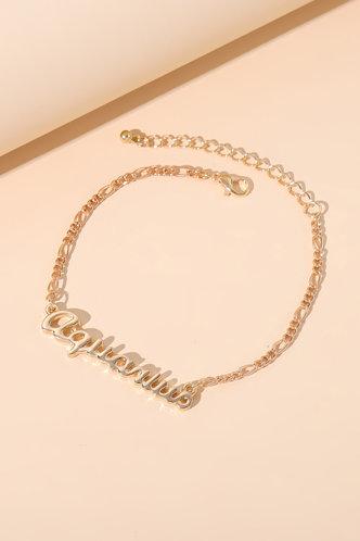 back_Casual Chain Gold Bracelets