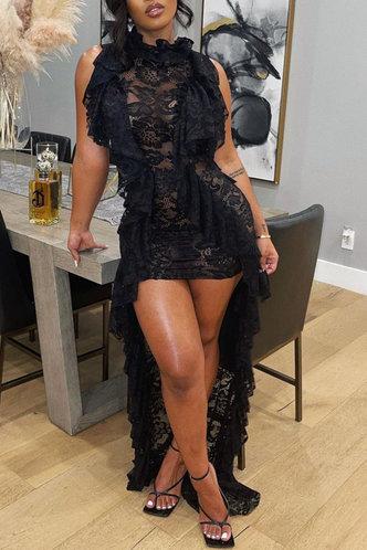 front_Tessa Fajrer Black Dress
