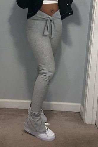back_Aggie Elsie Light Heather Grey Pants