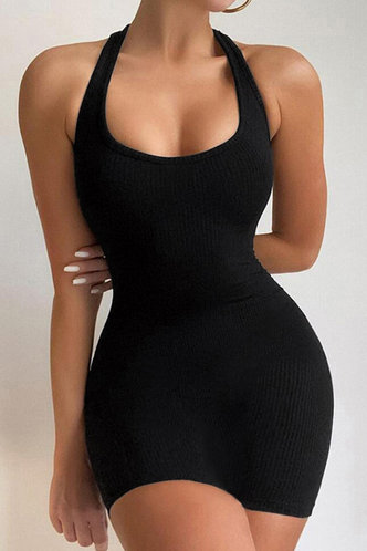 front_Kristin Elaine Black Plus Size Dress