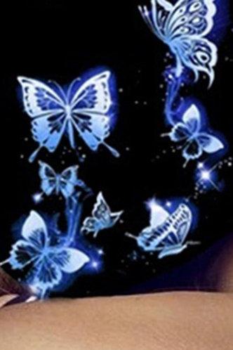 back_Emily Evangeline Butterfly Print Face Mask