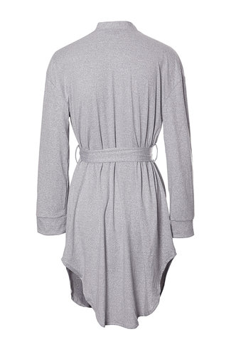 back_Sunday Mornings Light Grey Robe