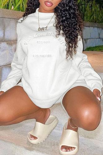 front_Fay Fesanan White Sweatshirt & Hoody