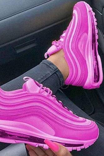 front_Gabrielle Montril Purple Sneakers
