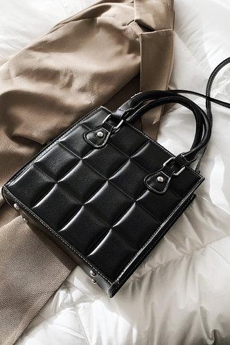 back_Ethel Ella Black Satchel Bag