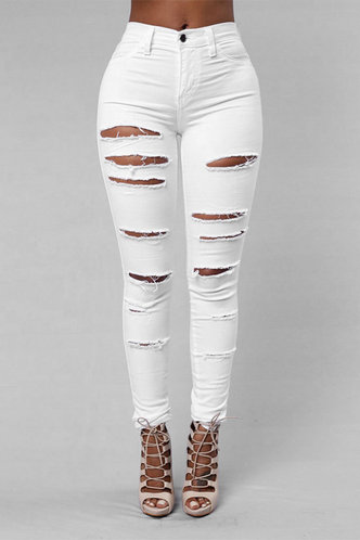 front_Jenny Edwina White Ripped Jeans