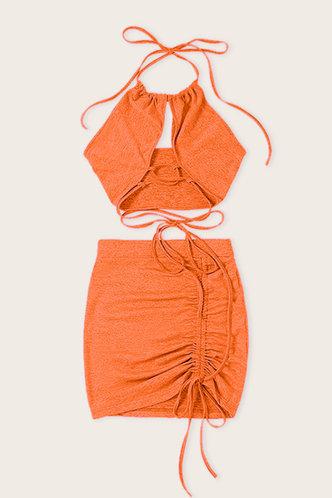 back_Vicki Elsie Orange Set