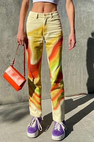 front_Eartha Horbek Multicolor Pants