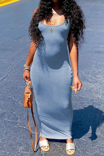 back_Tillie Elsa Light Blue Bodycon Tank Dress