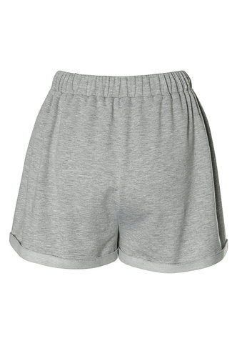 back_Totally Unbothered Grey Shorts