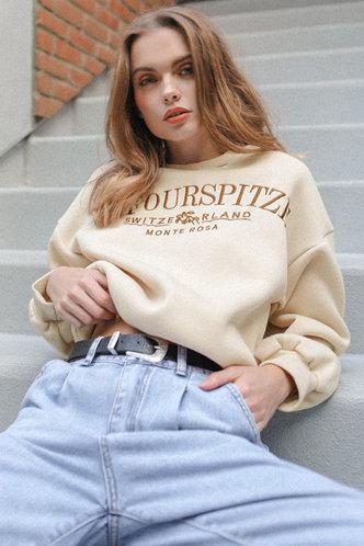 front_Zona Apricot Sweatshirt