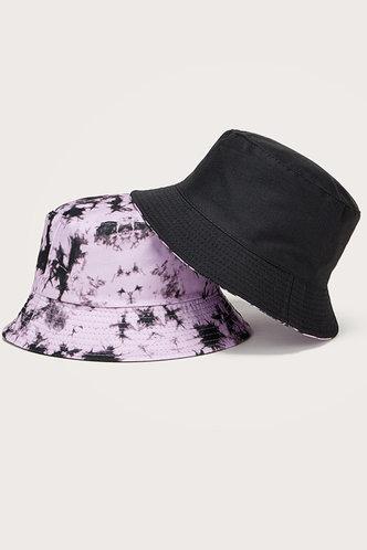 front_Gemma Eileen Purple Tie Dye Bucket Hat
