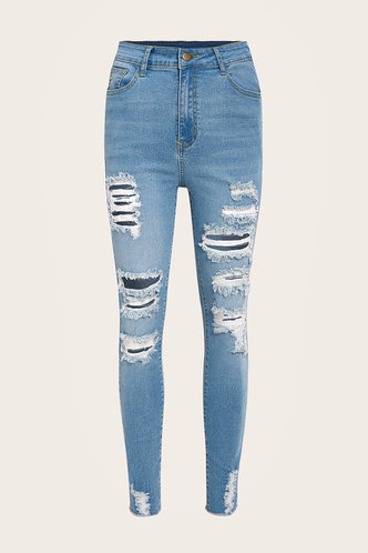 back_Florence Lamris Wash Blue Jeans