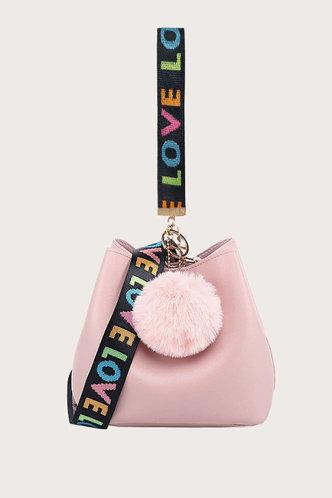 front_Mercedes Erin Pink Crossbody Bag