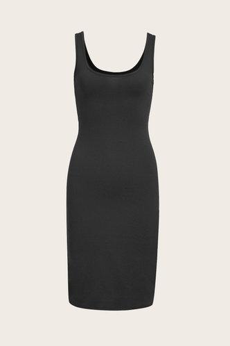 back_Marguerite Edith Black Bodycon Dress