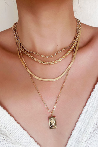 front_Lynn Eden Gold Layered Necklace