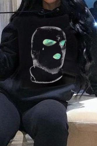 back_Black Sweatshirts & Hoodies