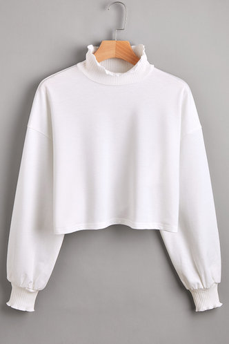 front_London Fog White Cropped Pullover