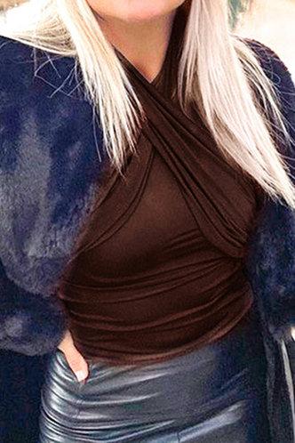 back_Gwen Evangeline Coffee Bodysuit