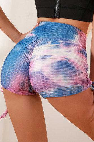front_Phoenix Ella Tie Dye Activewear Bottom