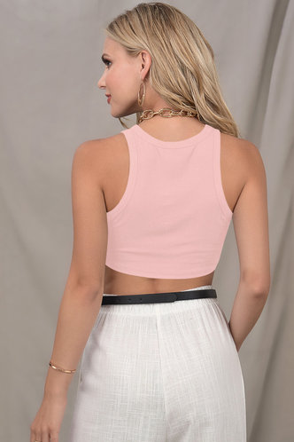 back_Late Night Blush Sleeveless Top