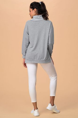 back_Free Will {Color} Long Sleeve Top