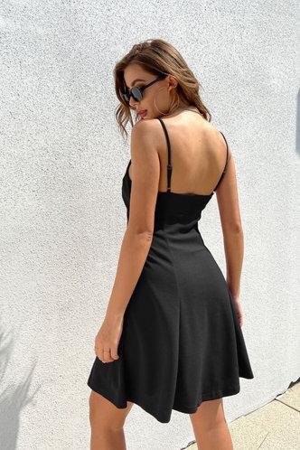 back_Ossie Black Dress