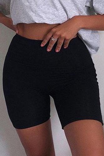 front_Joie Elsie Black Plus Shorts