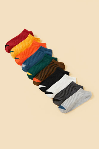back_Almon Eden Multicolor Socks Random Color 8pairs