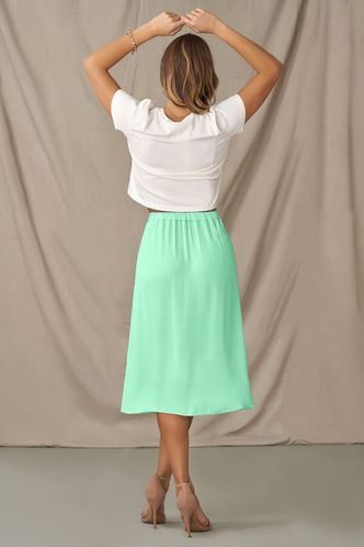 back_Sing A Song Mint Green Skirt