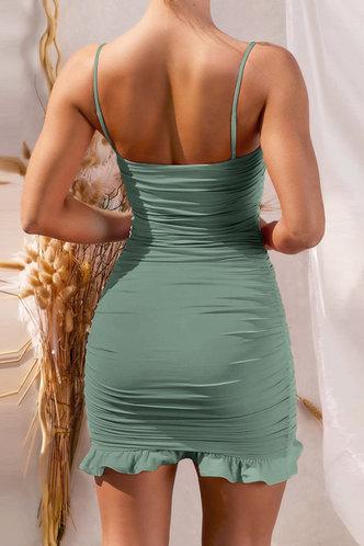 back_Deane Edith Sage Green Flounce Hem Dress