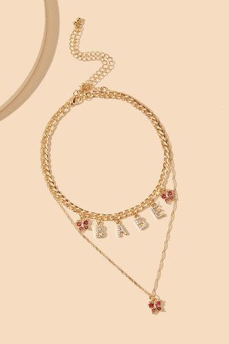 back_Mamie Edwina Gold Layered Necklace