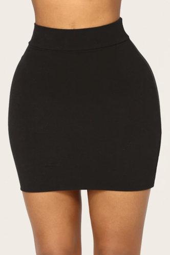 front_Freda Hark Black Skirt