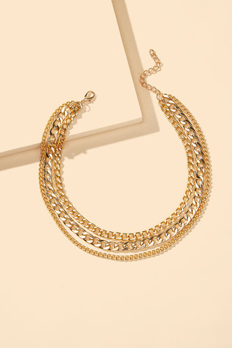 back_Laurel Eileen Gold Layered Chain Necklace