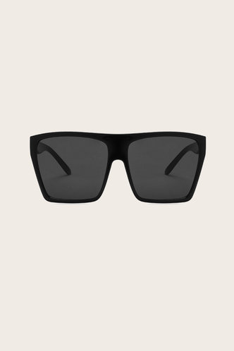 back_Eunice Garan Black Acrylic Frame Sunglasses