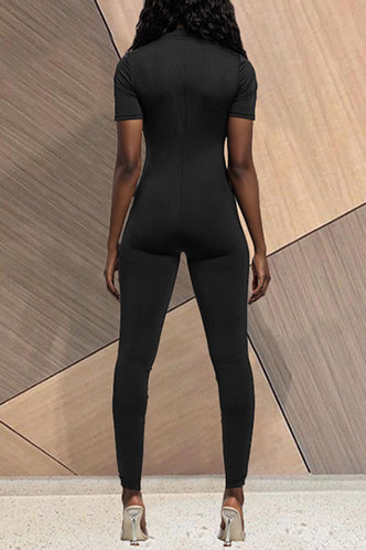 back_Denise Elaine Black Jumpsuit