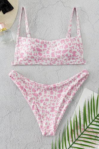back_Brigid Edith Pink Leopard Print Bikini Set
