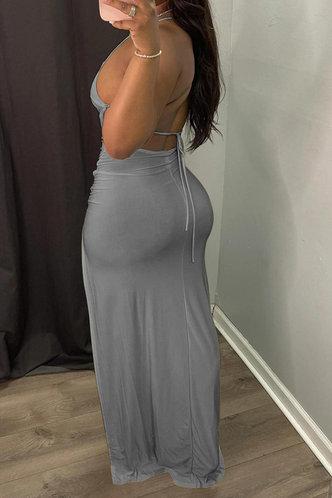 back_Judith Eve Grey Dress