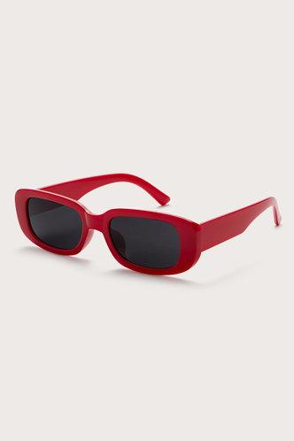 back_Tessa Eleanore Red Acrytic Frame Sunglasses