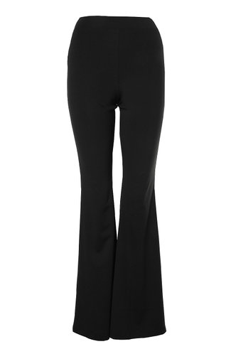 back_She's Got Flare Black Pants