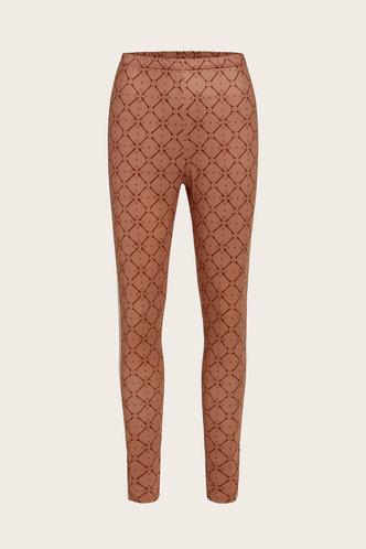 back_Freda Gharden Brown Pants