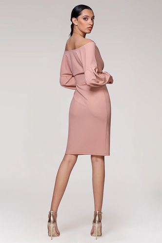 back_Lovely Story Blush Midi Dress