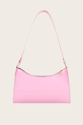 front_Trudy Emma Pink Shoulder Bag