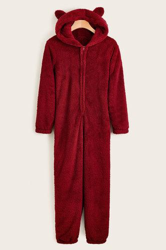 front_Fiorenza Red Sleepwear