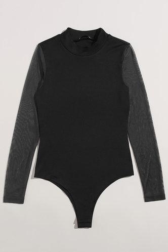 back_Arabian Jasmine  Black Bodysuits